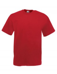 FOL Valueweight T- Shirt in Red